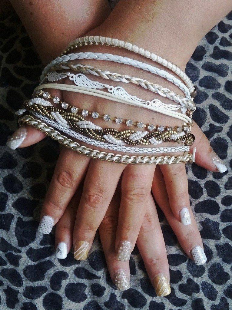 Décoration inspirée d'un bracelet
